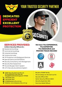 Security Guard Services in Singapore